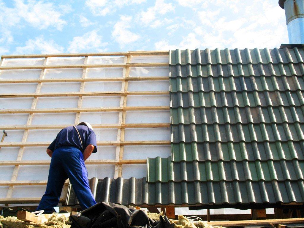 Как отремонтировать крышу в доме