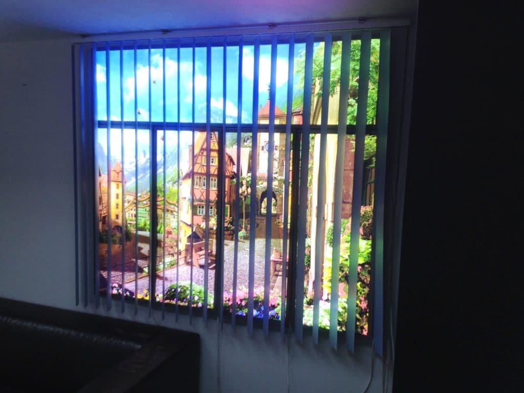 Фальш окно с подсветкой