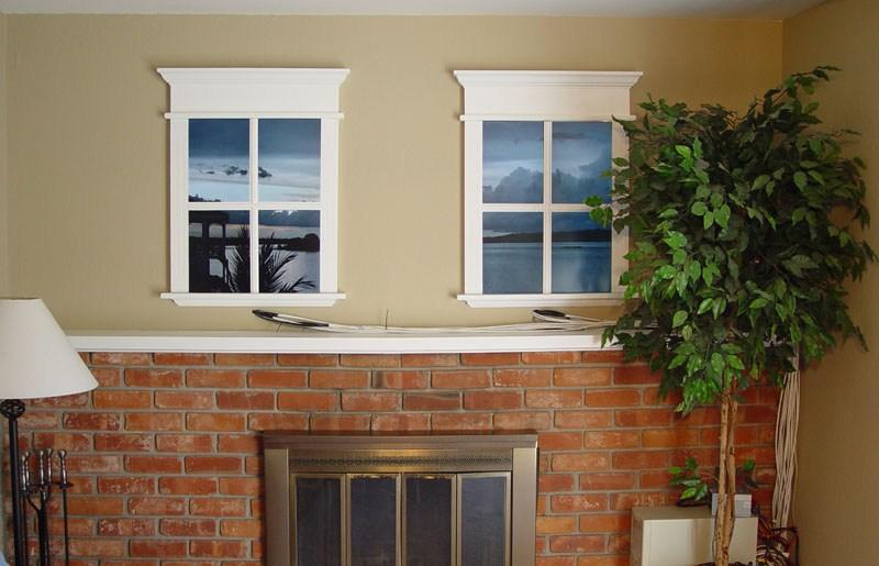 Фальш окно в квартире — это должен знать каждый