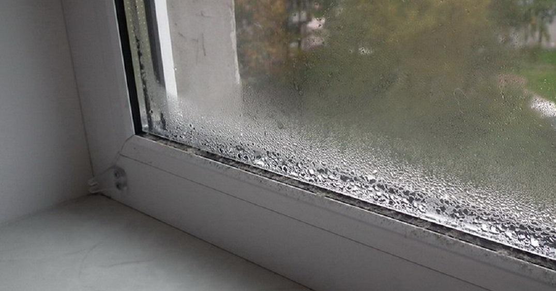 Образование конденсата на окнах