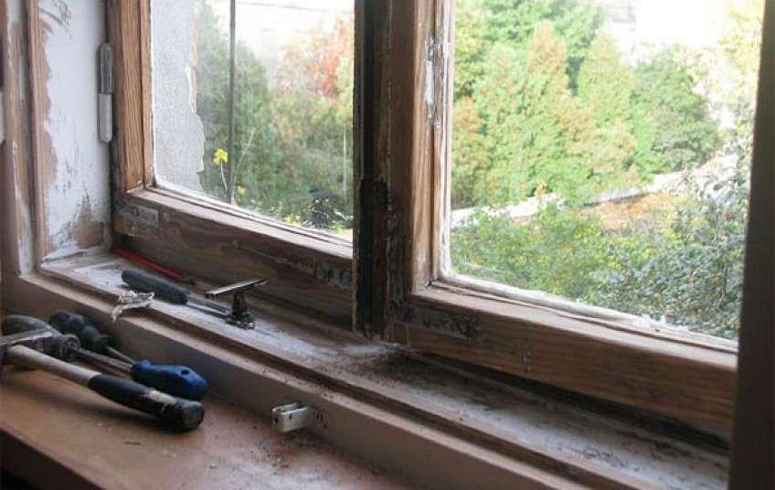 Реставрация и ремонт деревянных окон