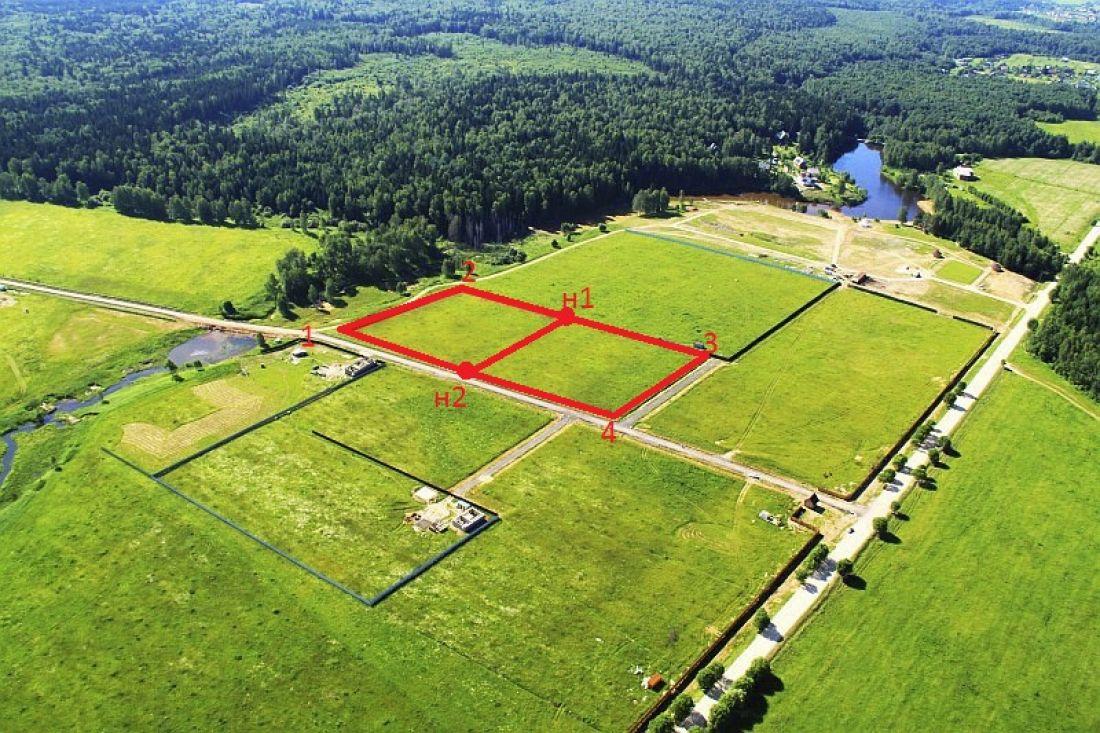 Определение границ земельного участка